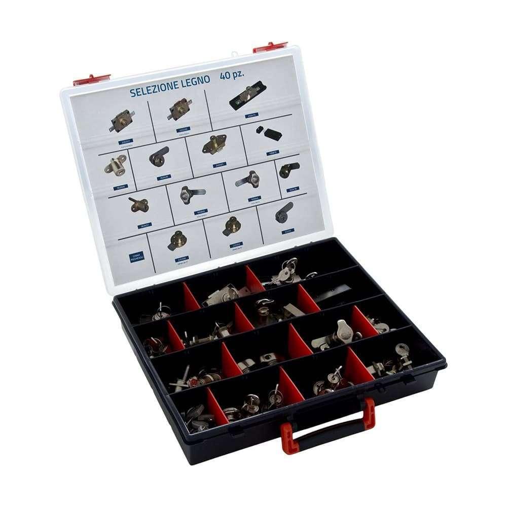 Valigette Super Class – Selezione di serrature utili per applicazioni su legno
