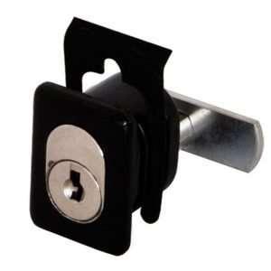Serratura ovale a pulsante per porte scorrevoli