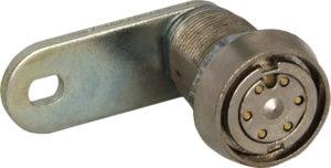 serratura a pistoncini radiali - Blocchetto jack - apertura con chiave rossa