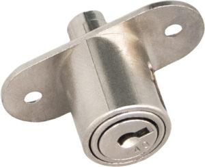 Blocchetto a pulsante non automatico - serrature per scorrevoli