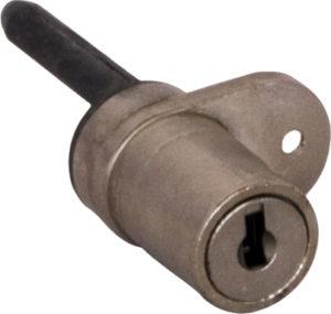 Serratura per chiusure multiple con aletta rifilata e meccanismo a lamelle - metallo pressofuso