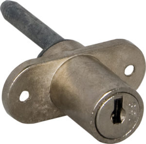 Serratura per chiusure multiple con doppia aletta e meccanismo a lamelle - metallo pressofuso