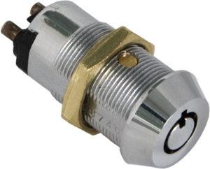 Serratura tubolare con contatto elettrico