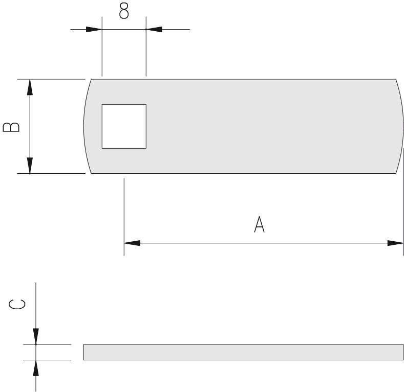 Schema misure leve dritte quadro 8