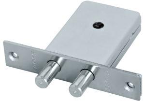 Serratura con chiave a spillo da infilare - con chiave a chiodo