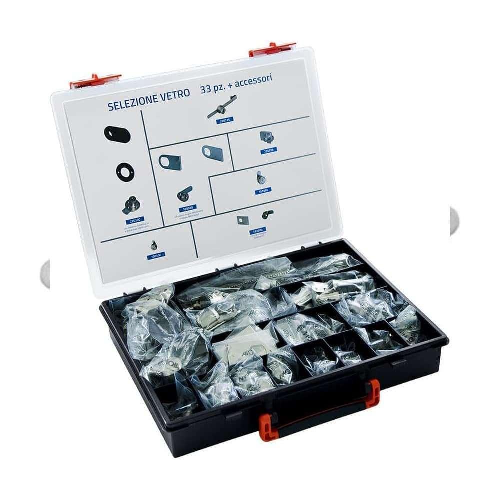 Valigette Super Class – Selezione di serrature utili per applicazioni su vetro