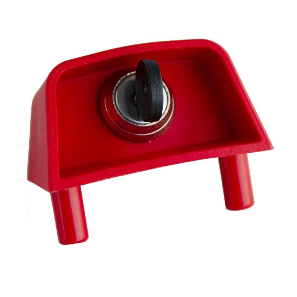 Ricambio - Cupolotto grande per cassonetti, con chiusura a pomolino