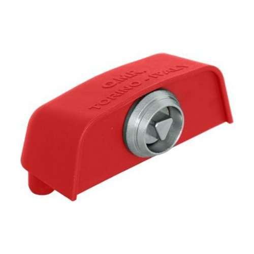 Ricambio - cupolotto piccolo per cassonetti con chiusura a impronta triangolare - GP-CUP-T