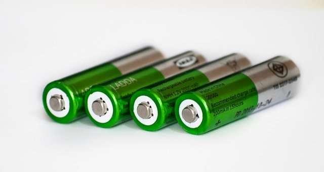 Batterie esauste fortemente inquinanti