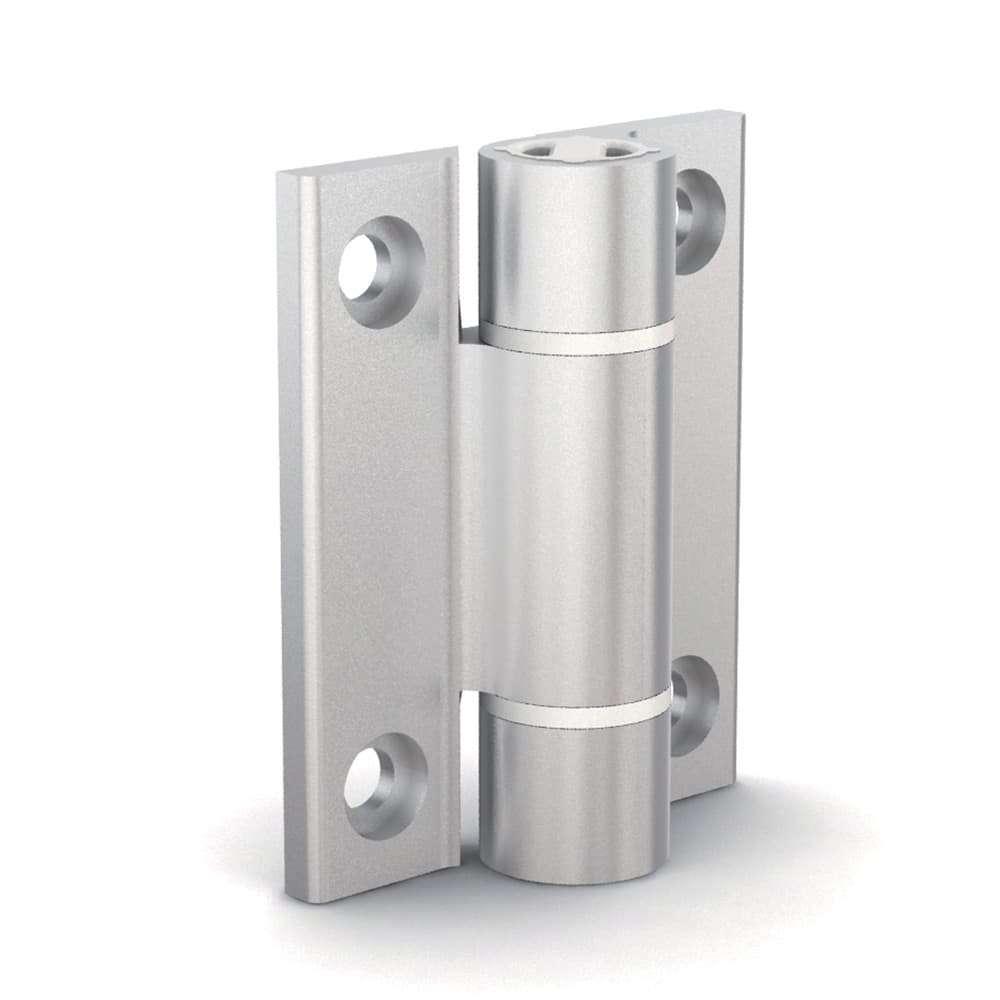 Cerniera a molla con profilo in alluminio 0,7 N.m - 72-1-4273