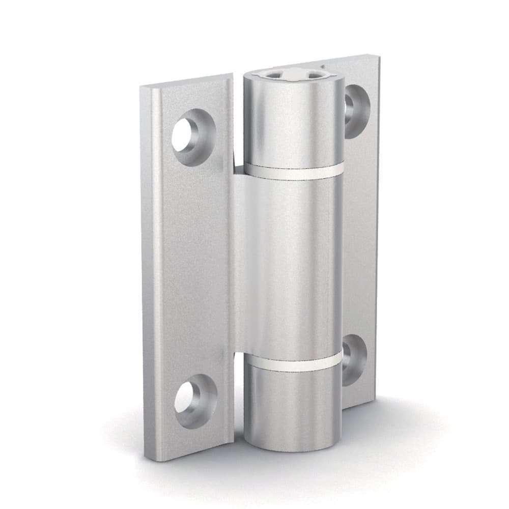 Cerniera a molla con profilo in alluminio 1,3 N.m- 72-1-4296