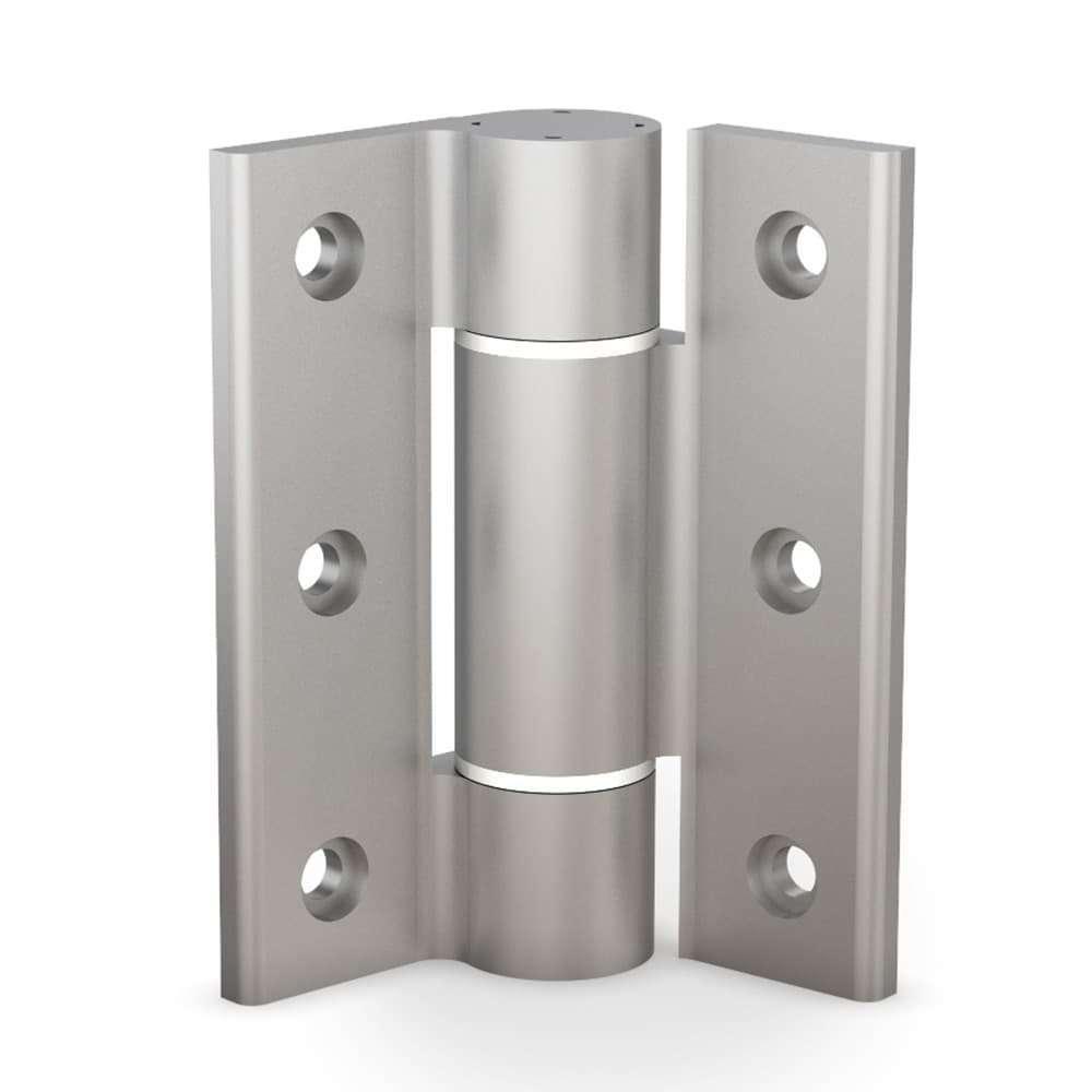 Cerniera ammortizzata in alluminio 75-1-0004