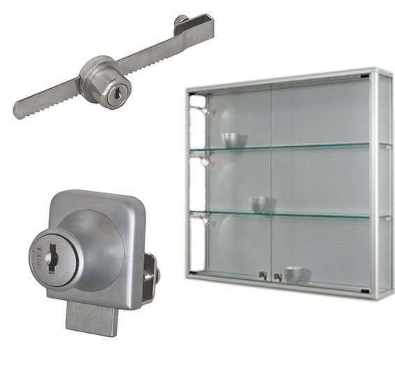 Serrature per ante in vetro, anche senza bucare o forare il vetro
